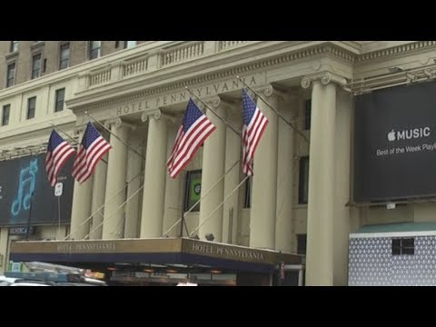 Hotel Pennsylvania  Across From Madison Square Garden And Penn Station In New York