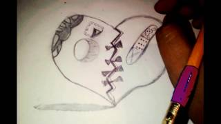 Como Dibujar Un Corazon Roto Videos 9tubetv