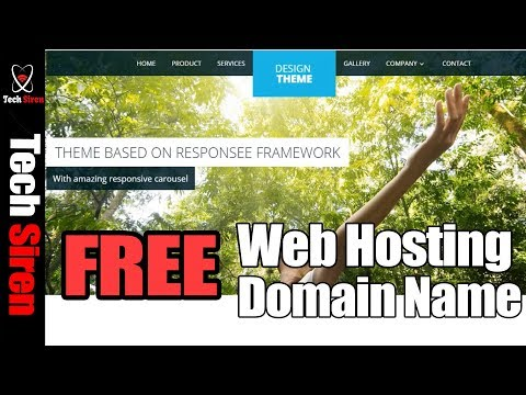 How to create a free website   get free hosting and domain name 2017