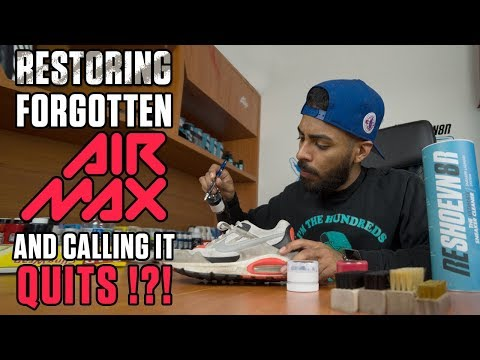 Vick restores this forgotten Air Max and calls in quits?