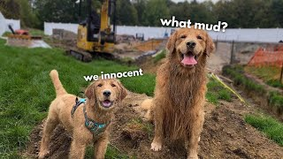 Tucker Shows Todd How to Get Muddy
