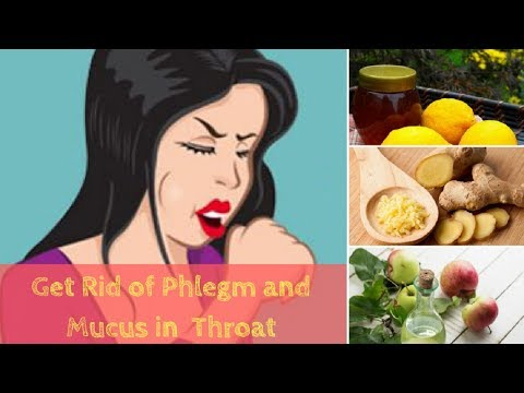 Get Rid of Phlegm and Mucus in Throat With These Home Remedies