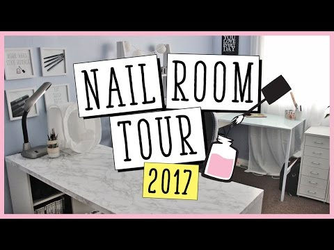 NAIL ROOM TOUR 2017 | Nailed It NZ