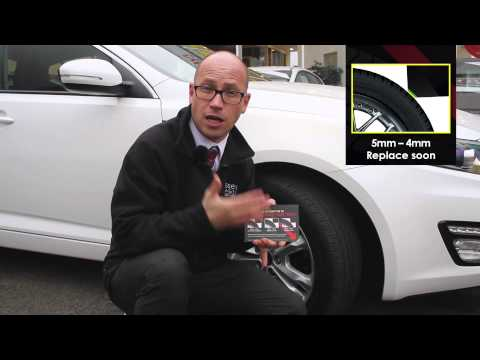 How to Check Your Tyre Tread Depth | Wessex Garages
