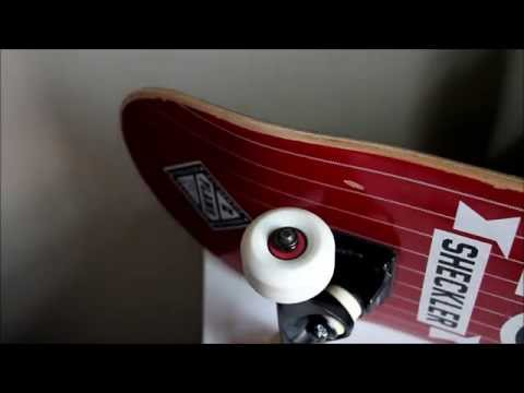 Remove/Replace Skateboard Wheels and Bearings