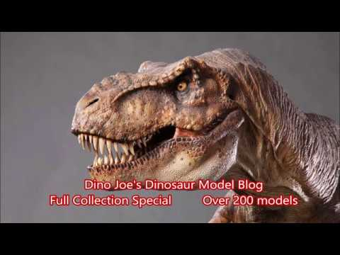 Full Collection: Over 200 Dinosaur Models