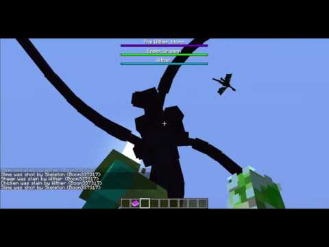 Engender Mod Update With The Mod Creator  Part 2 WITHER STORM!!!!!!!!!!