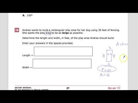 Question 18 - Geometry - TNReady Practice Test