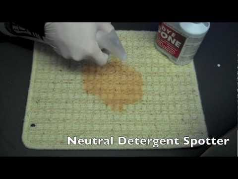 How to Remove Iron Brew from carpet by Cleaning Systems UK & Chemspec Dye Gone