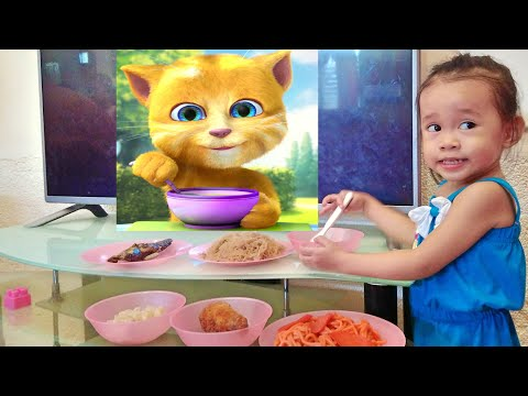 How To Get Your Baby or Child To Eat in Easy Way - Donna The Explorer