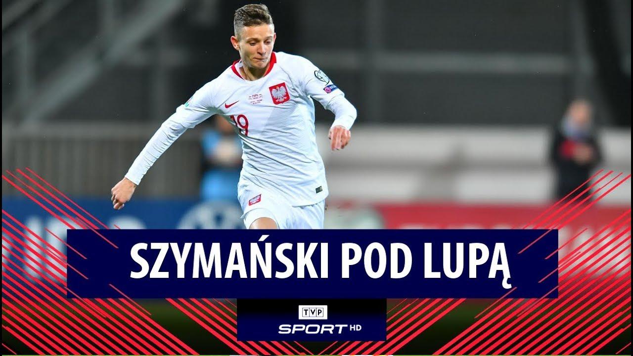 Presję ma za nic. Gra Sebastiana Szymańskiego okiem kamery   El. Euro 2020, Łotwa - Polska