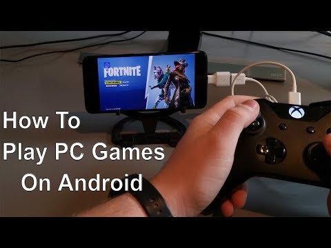 How To Play PC Games On Android Using Parsec (Fortnite, Pubg, Doom)