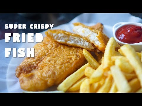Fish Batter Recipe | Super Crispy Fried Fish | Hungry for Goodies