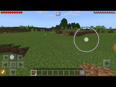 How to drop items in minecraft pocket Edition (Mcpe)