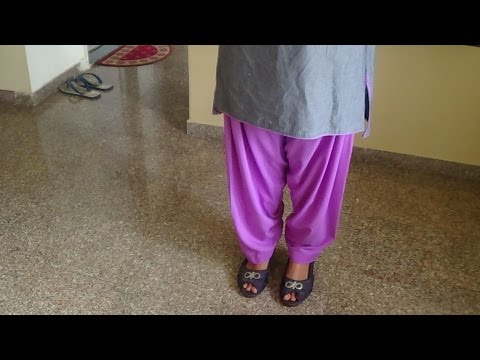 How To Cut and Stitch Patiala Salwar (step by step)