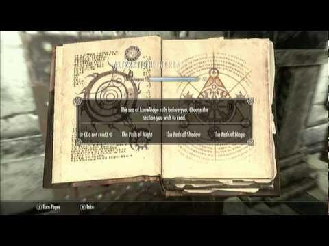 Guide-Skyrim.Oghma Infinium Glitch