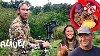 Brad Hunts Boar in Hawaii   It's Alive: Goin' Places   Bon Appétit