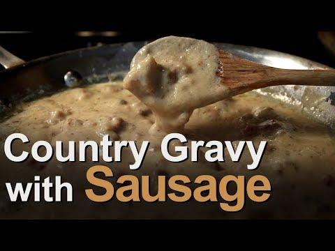Best Country Gravy with Sausage