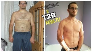 P90X Results - from Fat Kid to Six Pack Abs - Matt Richard's