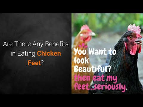 Benefits in Eating Chicken Feet