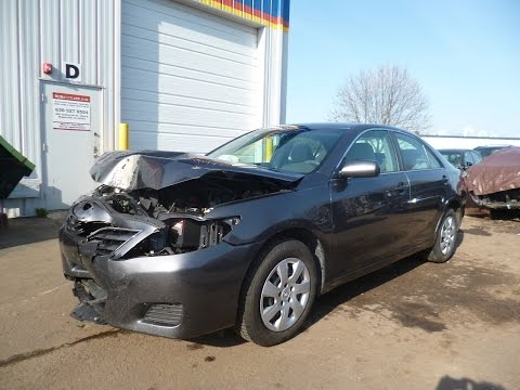 2011 Toyota Camry 85K miles clear title repairable salvage car for sale by Rebuiltcars