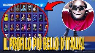 Download IL PROFILO PIÙ BELLO in ITALIA su Fortnite ! *ASSURDO* Video