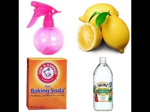Homemade Lemon & vinegar cleaner