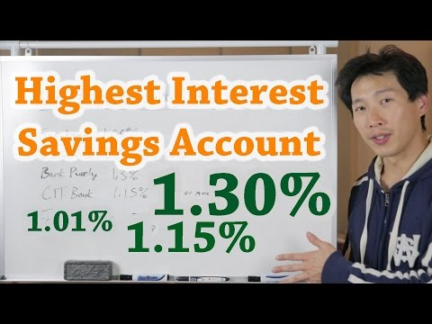 Chasing the Highest Interest Savings Account | BeatTheBush