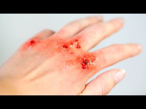 Bloody knuckles - SFX makeup Tutorial