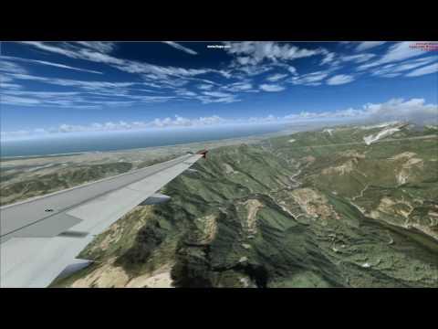 FSX Pisa Tuscany Landing