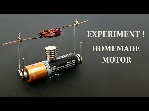 Homemade motor - How to make a simple motor