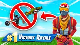 WINNING Fortnite High Explosives With NO EXPLOSIVES!