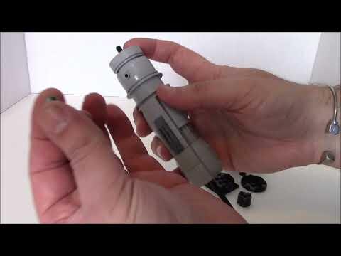 Build a Lego Lightsaber with BWTMT Brickworks