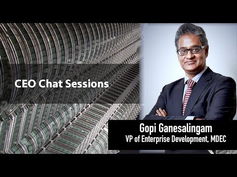 The CEO BizChat Series - Gopi Ganesalingam (VP of Enterprise Development, MDEC))