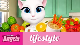 Talking Angela - What I Eat in a Day
