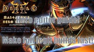 Diablo 2: Hero Editor guide - Make full legit offline characters.