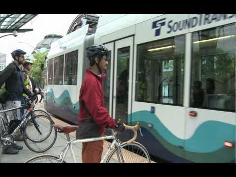 Sound Transit - How to ride with your bicycle on Tacoma Link light rail