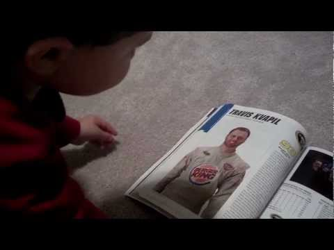 3 Year old knows NASCAR!