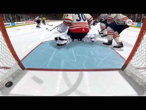 INSANE GOALIE SAVES IN NHL 14