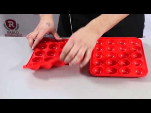Tutorial para hacer Cake Pops con molde Dos Lembas