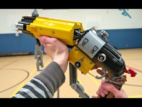 LEGO Roadhog's Scrap Gun - Overwatch