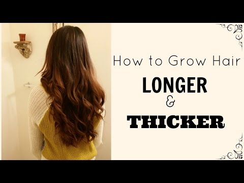 How to Grow Longer and Thicker Hair | Castor Oil | DIY Hair Mask