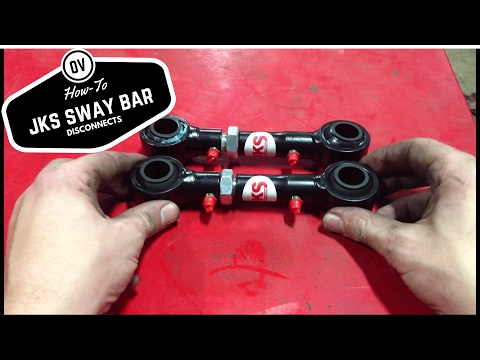 How-to Install JKS sway bar disconnects