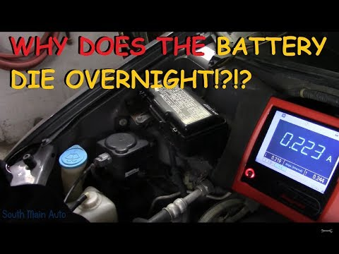 Diagnosing Battery Draw (Battery Goes Dead Overnight)