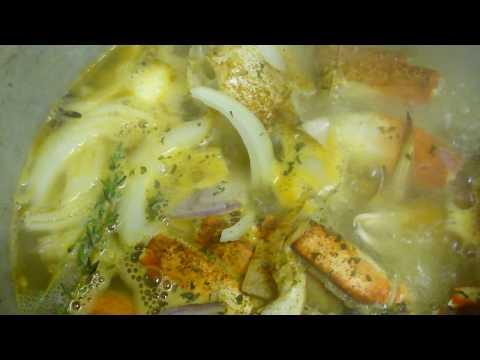 Haitian rice w/ Black mushroom or Du riz djon djon & Snow crab in sauce (3)
