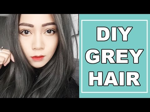 DIY GREY HAIR! ALL DRUGSTORE PRODUCTS + USING OLAPLEX AT HOME!