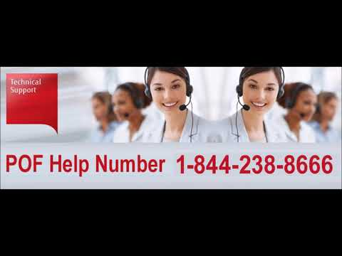 CALL 1 844 238 8666 to know how to fix pof login problems