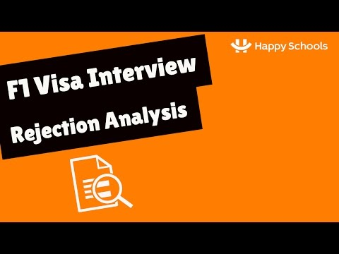 F1 Visa Interview Experience - Fall 2017  -  Rejection Analysis