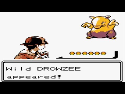 Pokémon Gold and Silver - Catching Drowzee (Part 43)