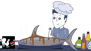 Chris Cooks Fish - Rooster Teeth Animated Adventures